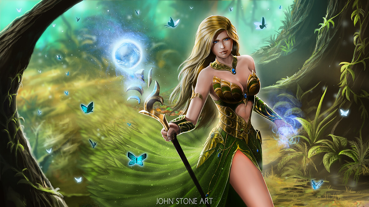 Mistress of the Forest