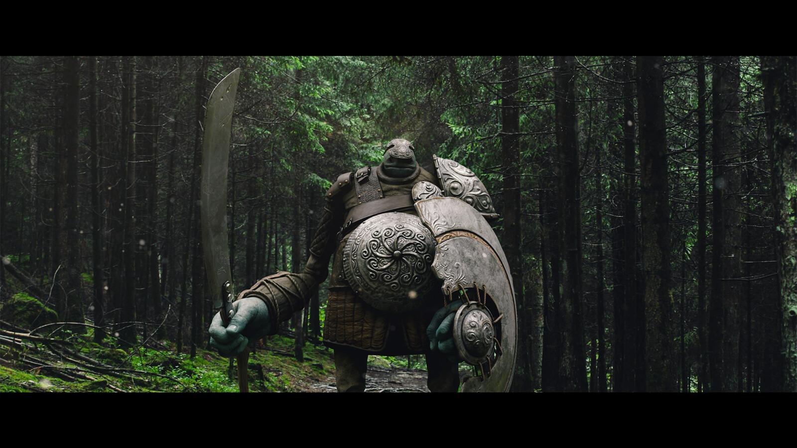 'cinematic' shot test