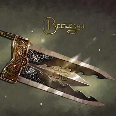 Magical kaleidoscope swordtember 2021 3
