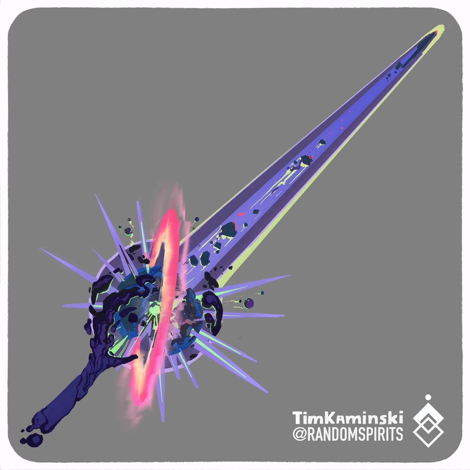 Swordtember 2021 Day 9 💥 Primordial 💥