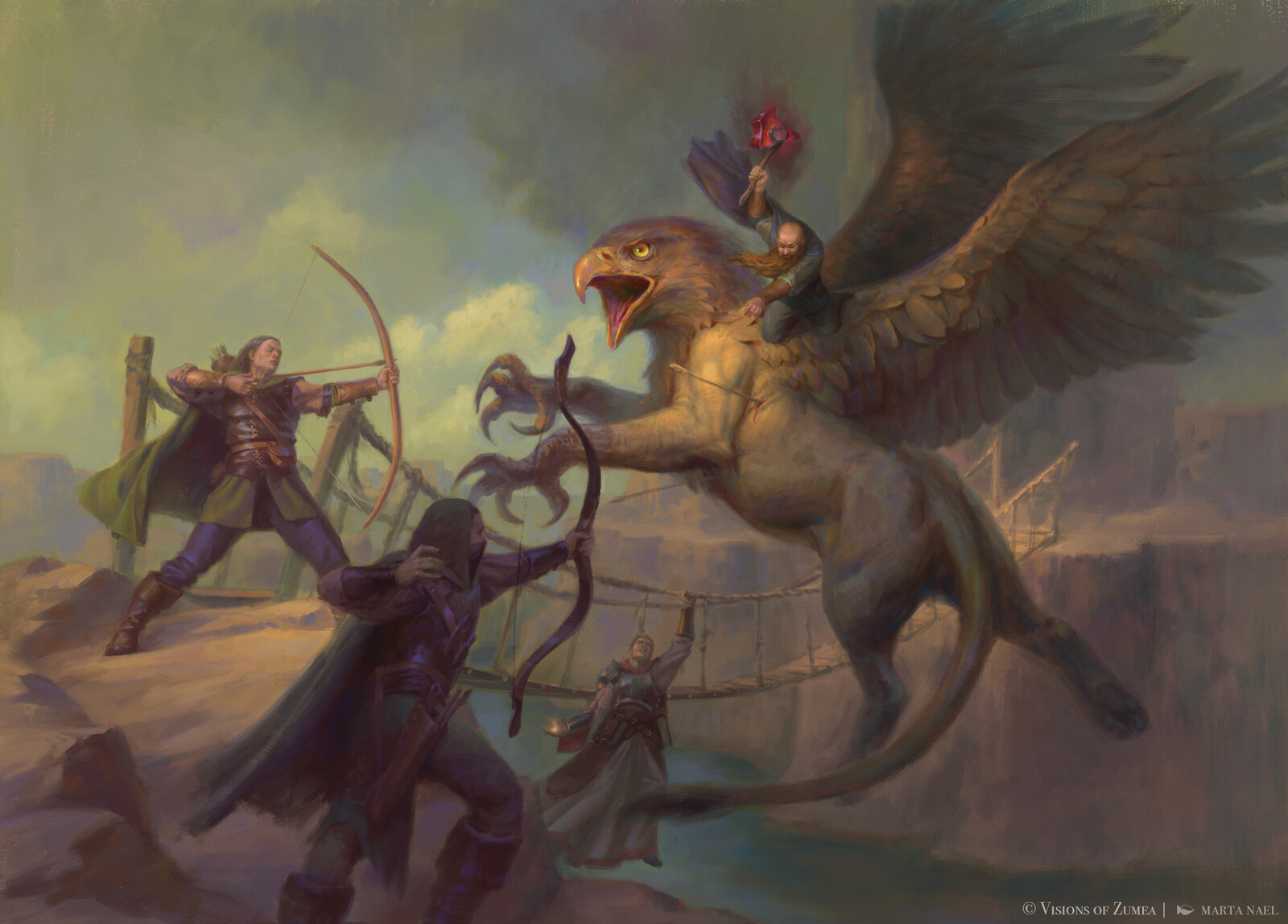 Griffin fight - Visions of Zumea
