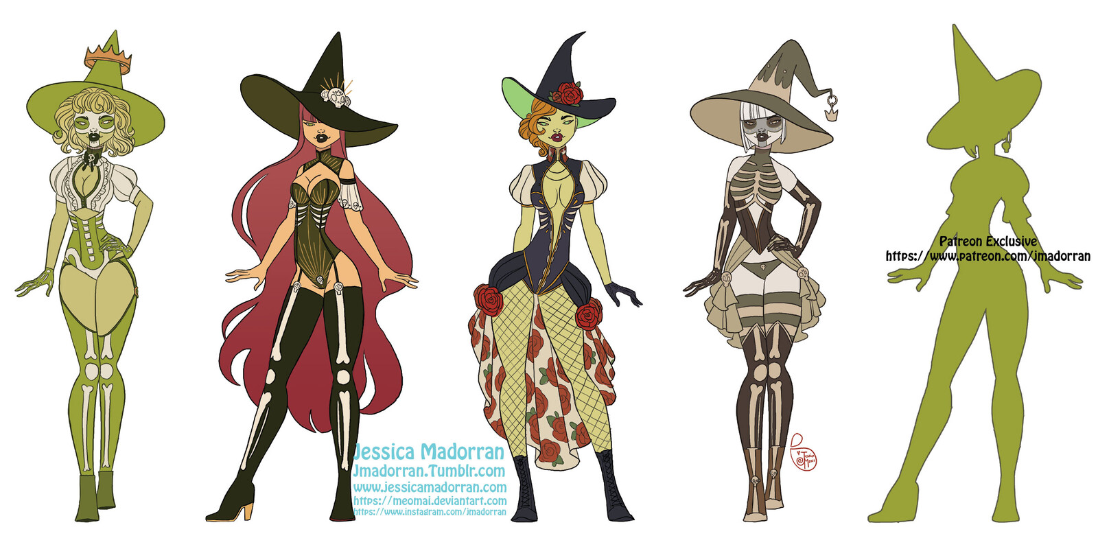 Patreon - September 2021 - Twisted Frog Prince Character Fashion Exploration
