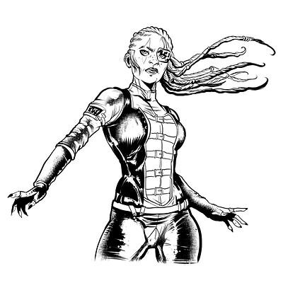 Teresa guido cyberpunk by teresaguido