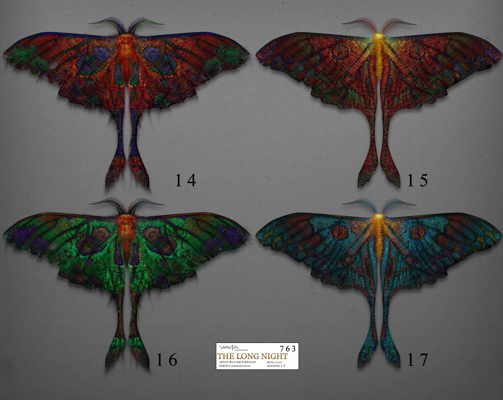 Hobbit - Mirkwood Moths