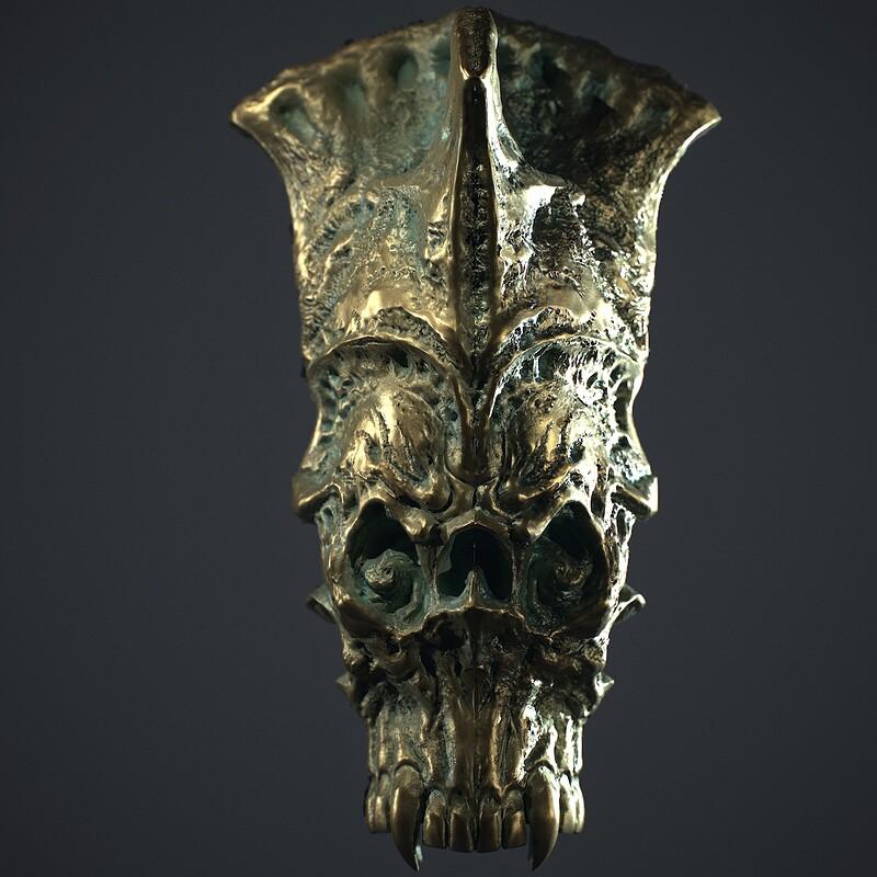 Ancient Bronze Macehead