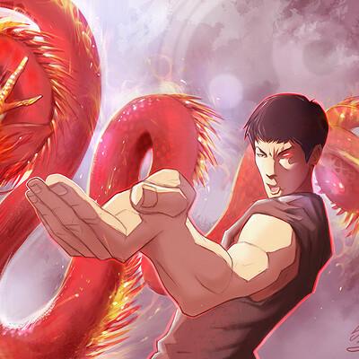 Lopez sylvain birth of the dragon