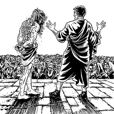 Caleb prochnow web jesus crowd sketchbook