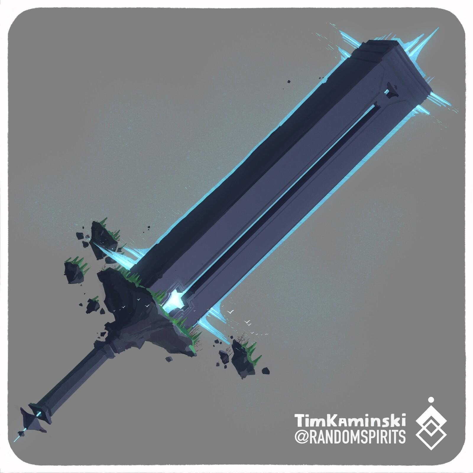 Swordtember Day 13 💥Monolithic💥