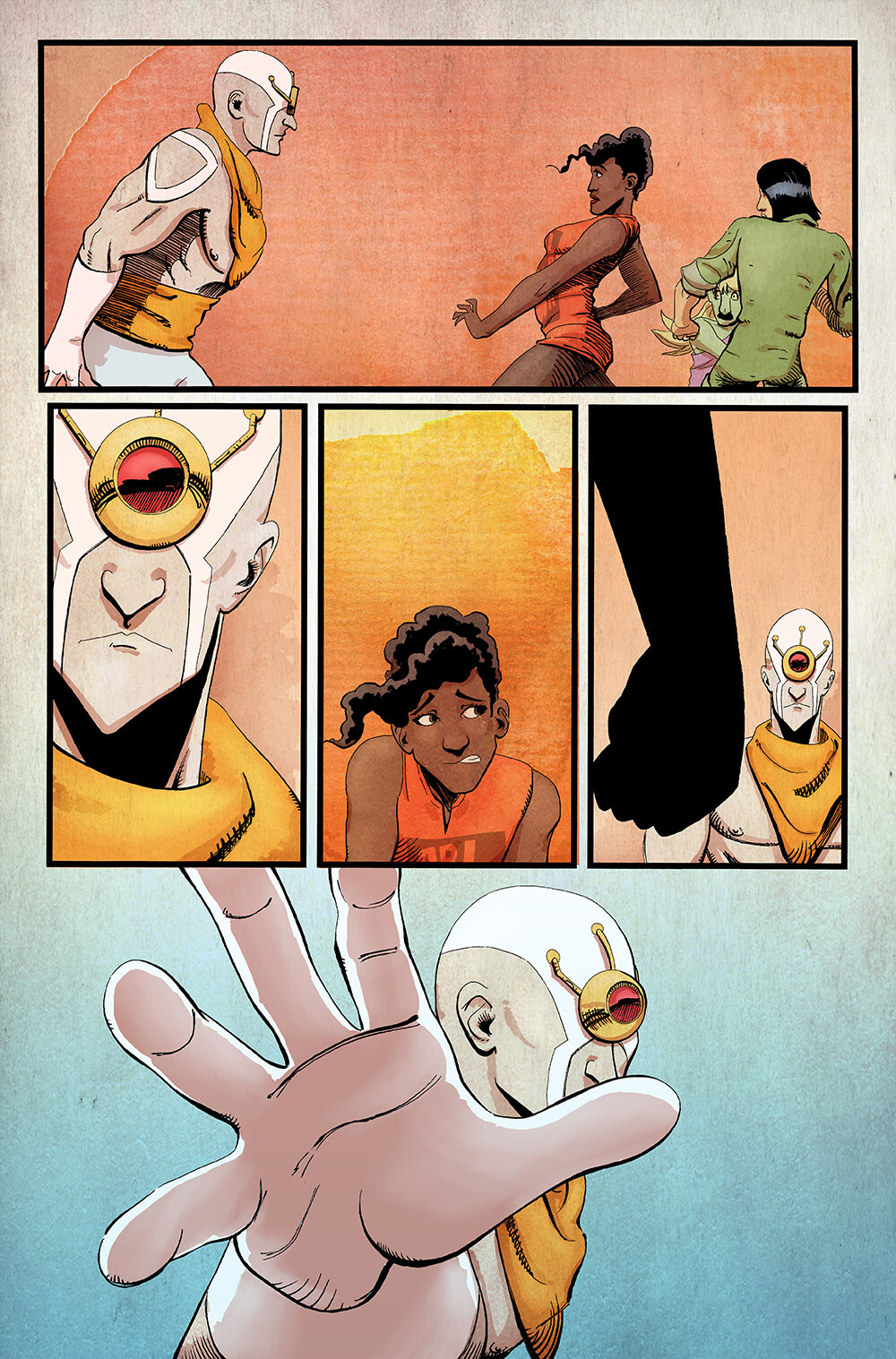 Vagrant Queen: A Planet Called Doom #1 pg 18