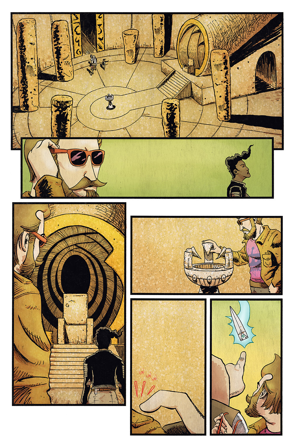Vagrant Queen: A Planet Called Doom #5 pg 18