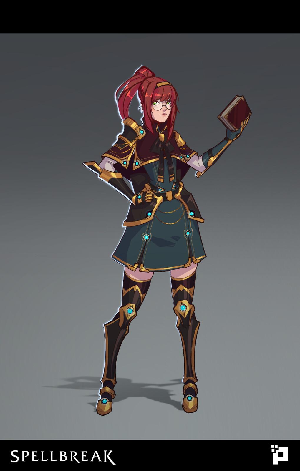 Final character render