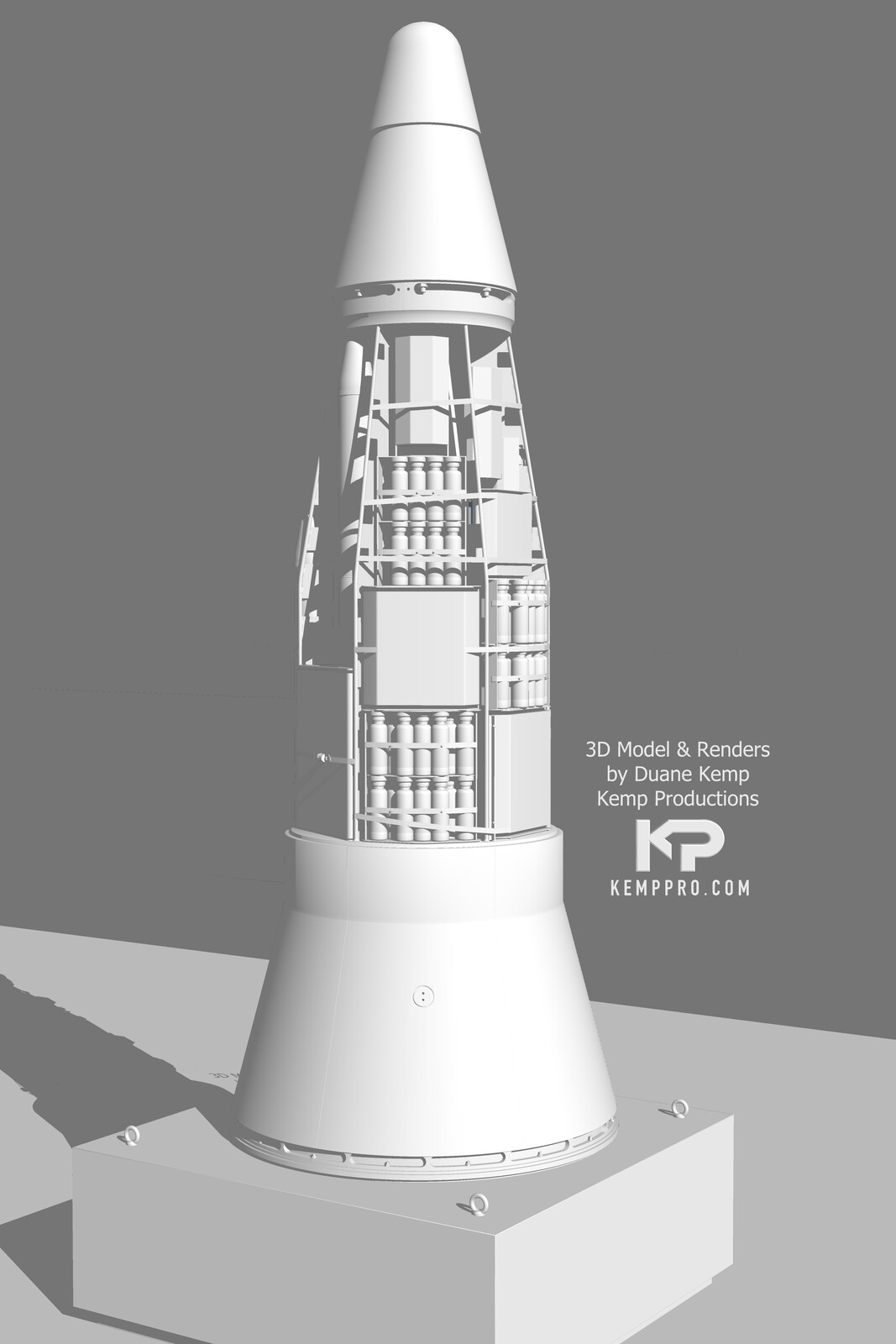 November 2020  Iranian Uprising Warhead Re-entry Vehicle 02C SU21-Scene 12 SU This is a rain configuration of cluster bombs that is released above a target, such as a base.