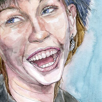Yiska chen 2021 09 portrait smiley wc