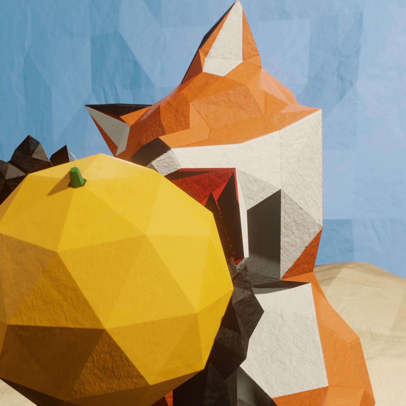 Fox Friday: Orange