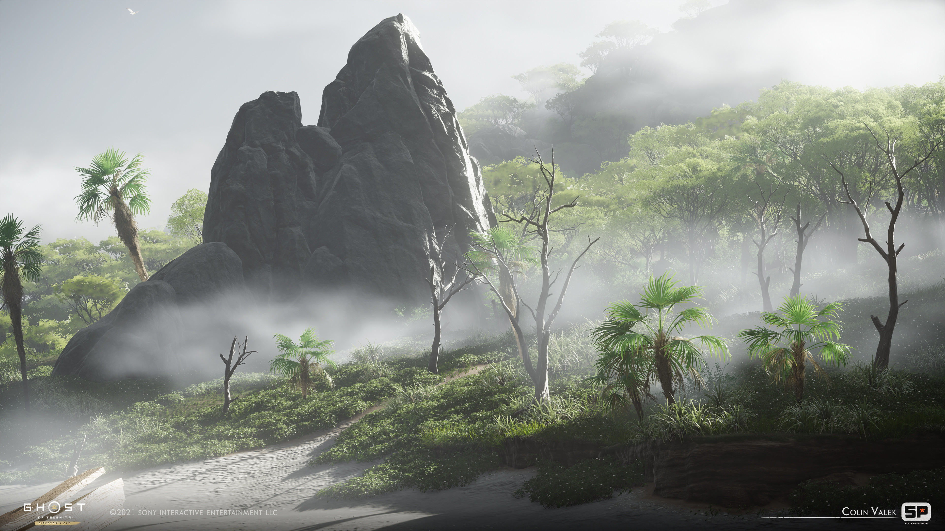 Terrain sculpting, vegetation dressing, and biome creation. Worked alongside Lisa Liao.