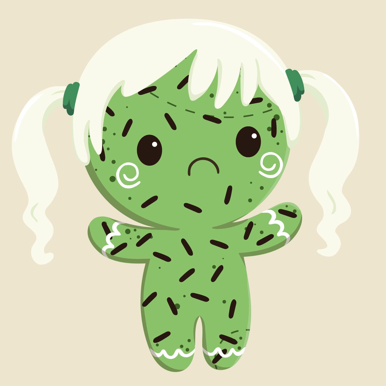 zombie body