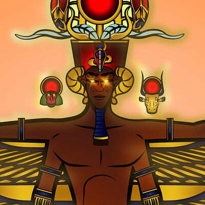 Larry springfield jr egyptian deity