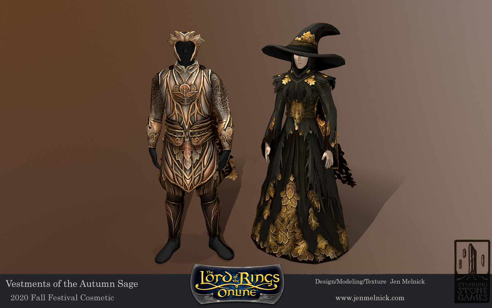 Lord of the Rings Online Vestments of the Autumn Sage Vestments of the Leaf-Turner Fall Festival 2020