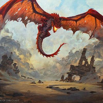 Greg rutkowski chaos dragon 1500