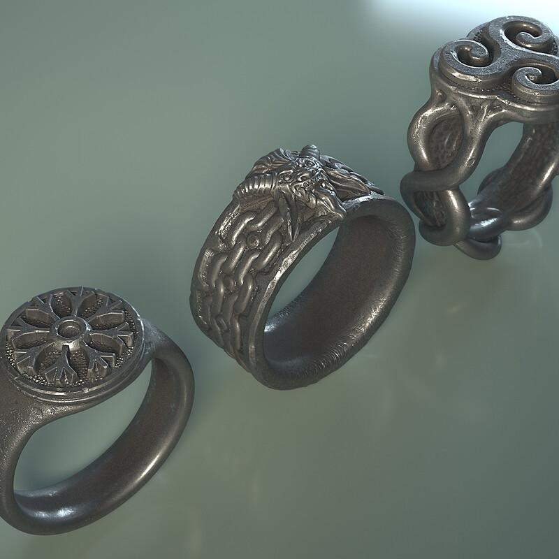 Krampus Rings
