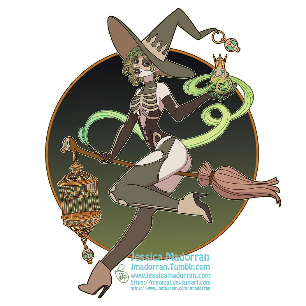 Patreon September 2021 - Twisted Frog Prince Sticker Option 01