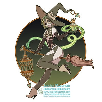 Jessica madorran patreon september 2021 twisted frog prince sticker option 01 artstation
