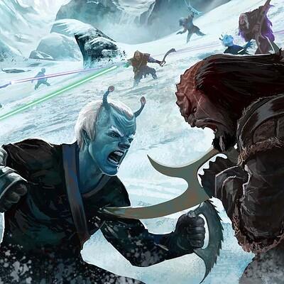 Chaim garcia chaim garcia star trek 01 andorian klingon battle