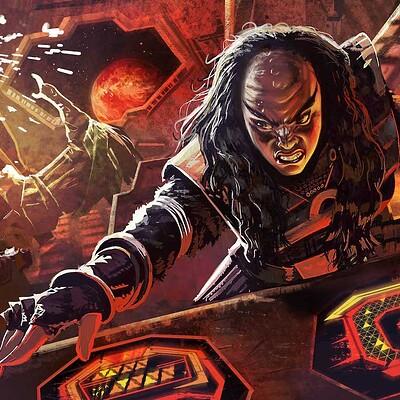 Chaim garcia chaim garcia star trek klingon tactical control
