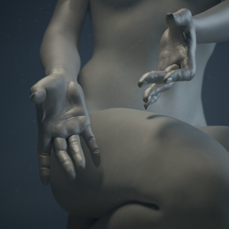 Traditional Chinese Medicine Museum - Nuwa (Goddess) Hands