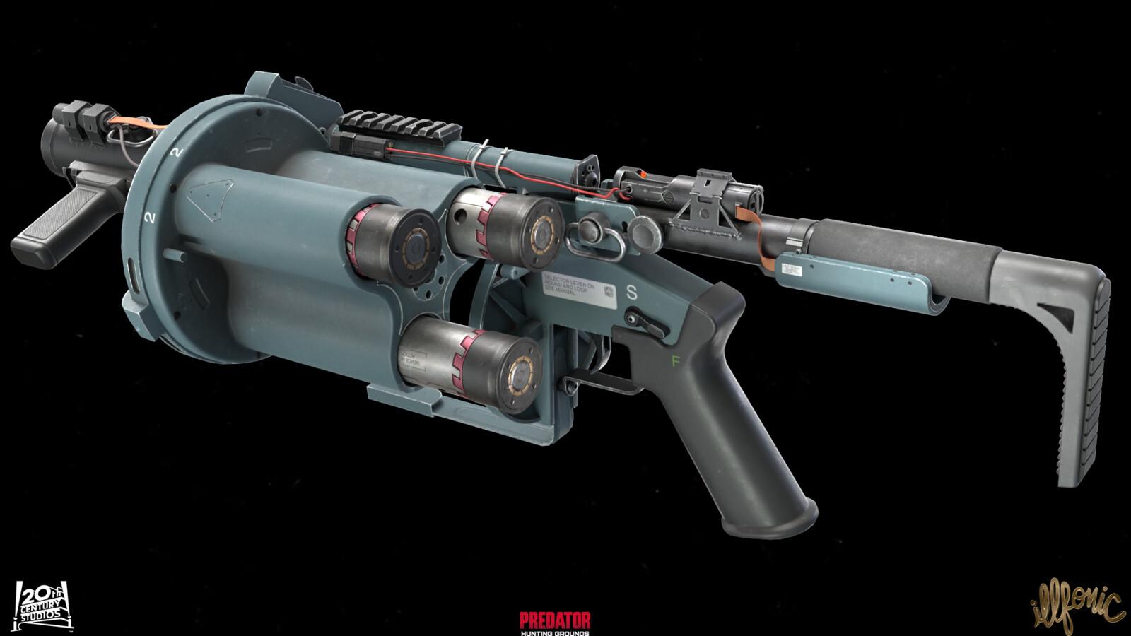 PHG Grenade launcher