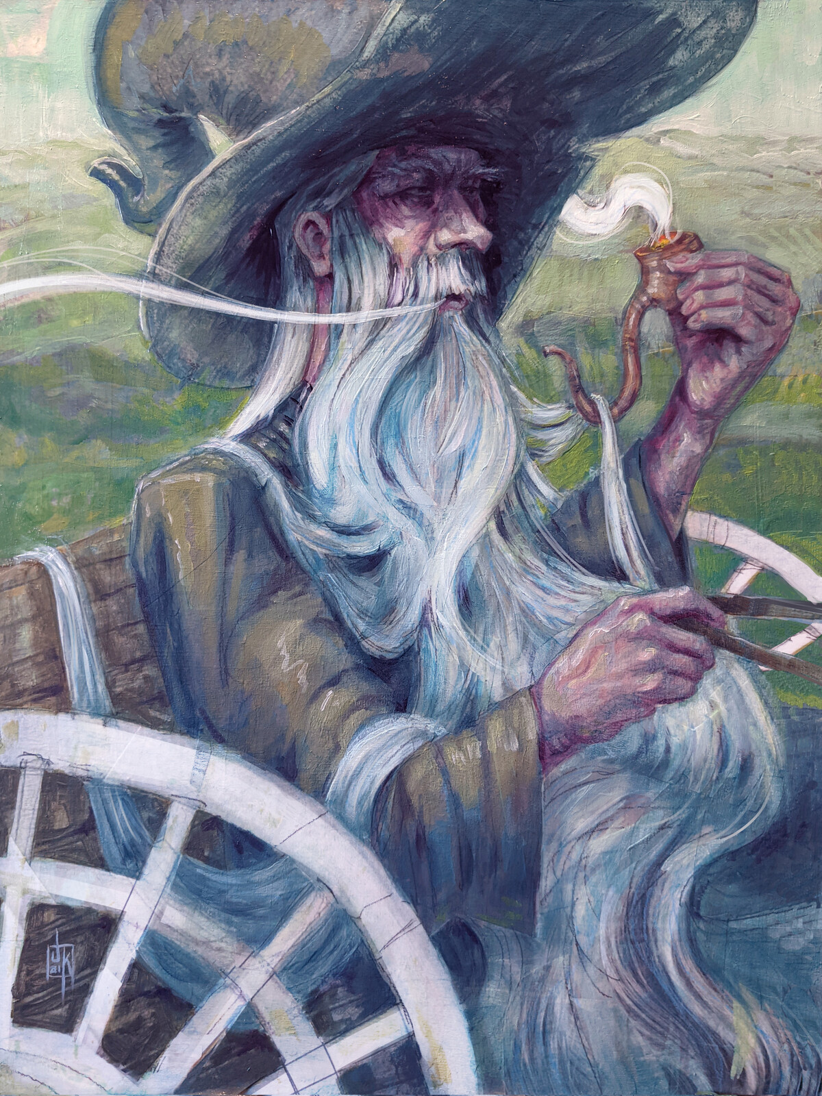 Gandalf Arrives