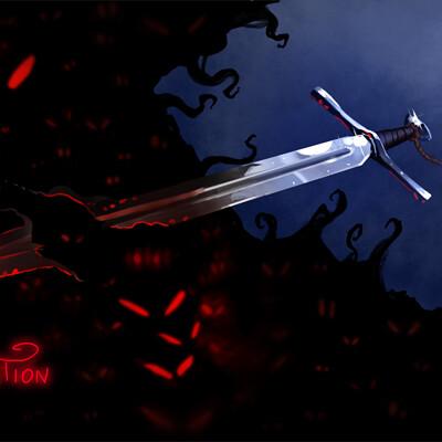 Magical kaleidoscope swordtember 2021 10