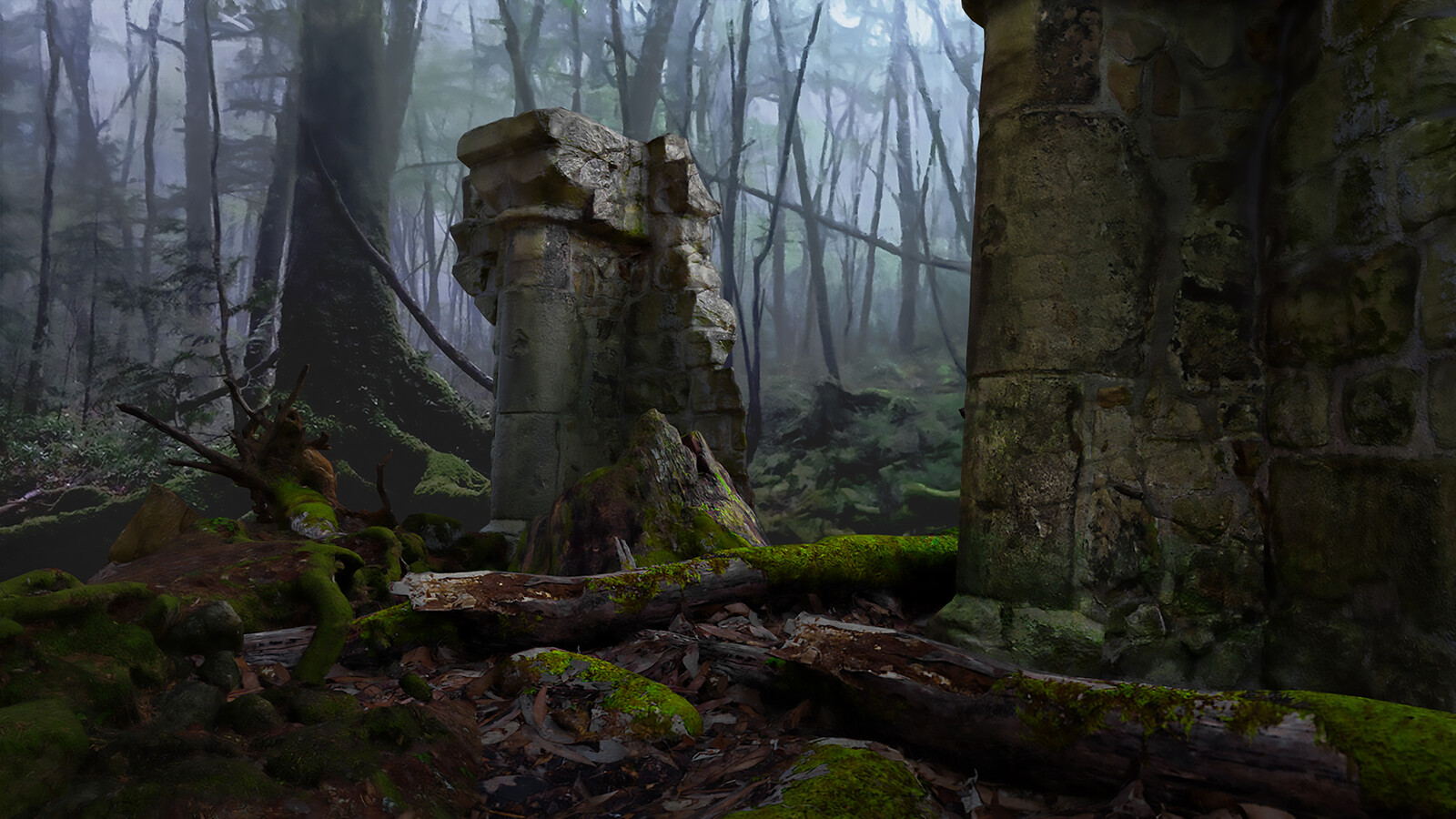 Forest Ruins