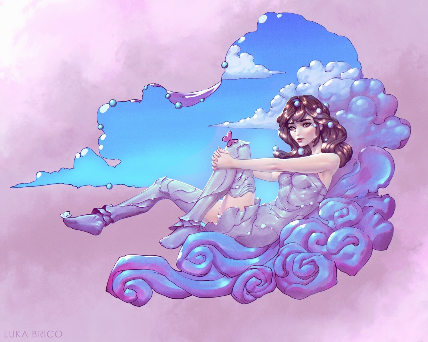 Sweet Lady of The Clouds