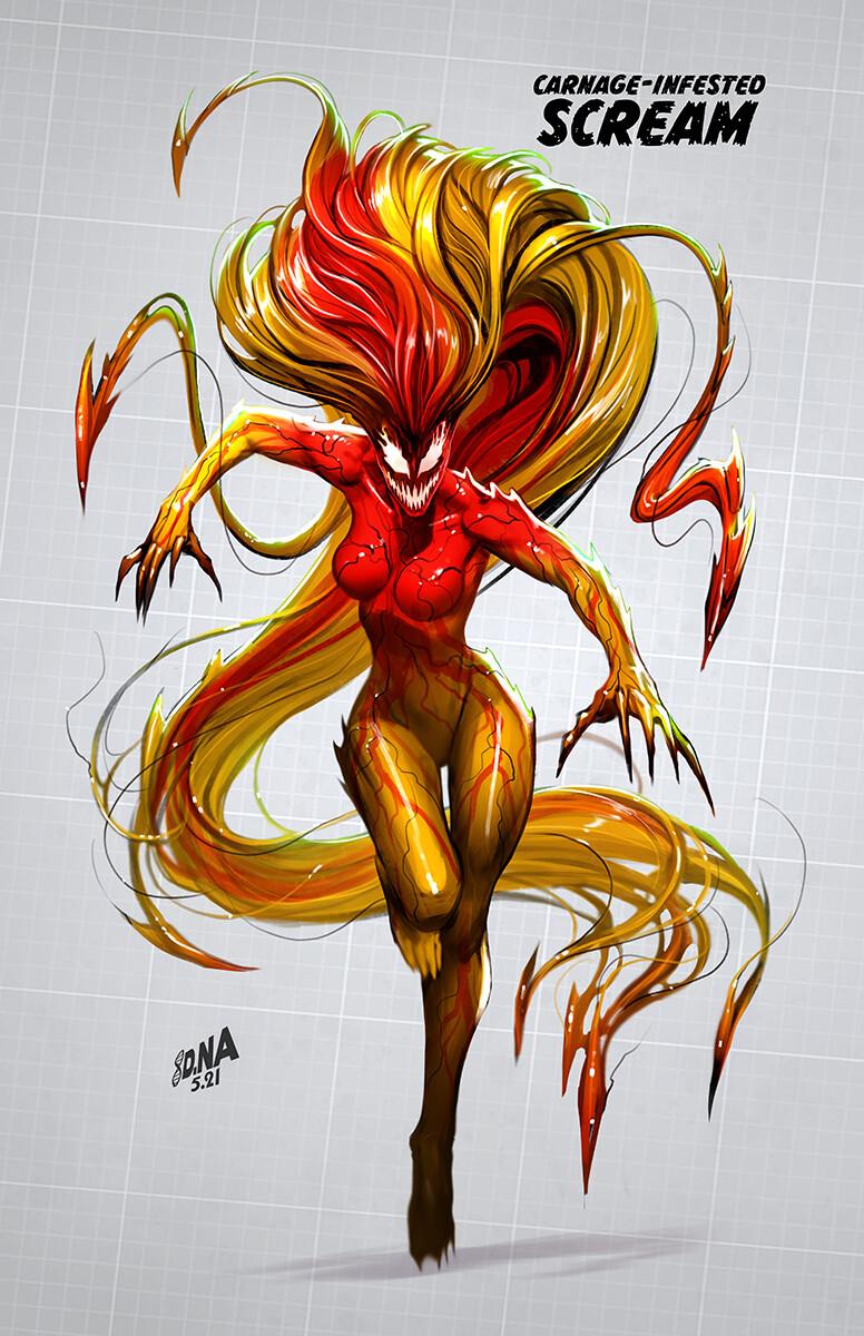 Final Concept/ Cover Art for Scream