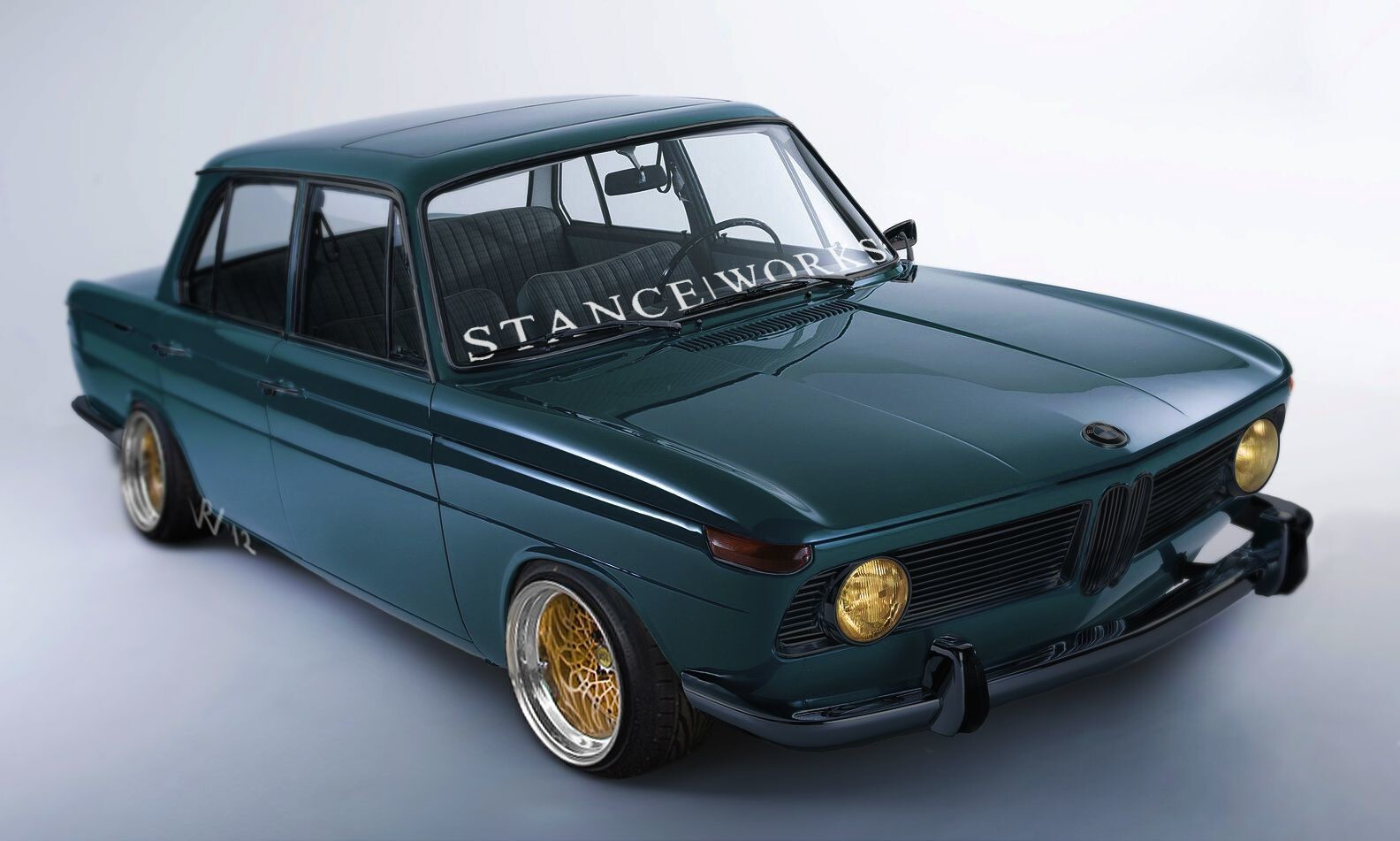 A BMW 1500 done, the Stanceworks way!