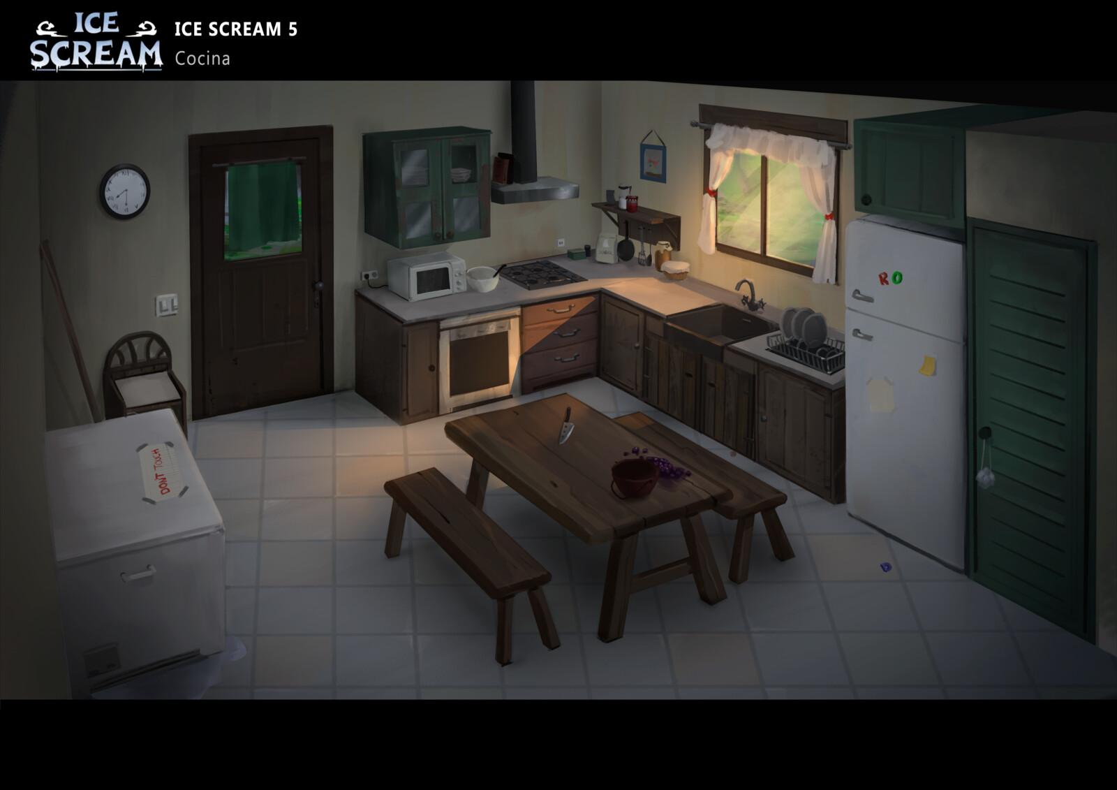 Ice scream 5 - Environments