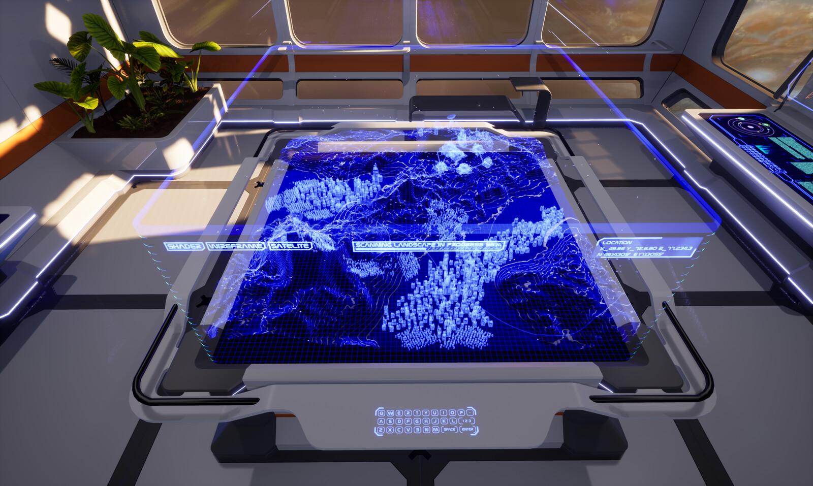 Sci-Fi Hologram Room - Module 3