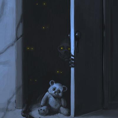 Alessandro amoruso template horror story gli esseri oscuri fernando camilleri 01