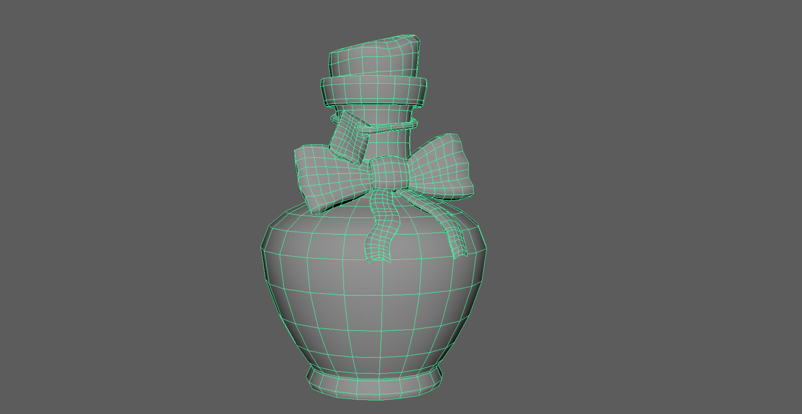 Optimized low poly mesh
