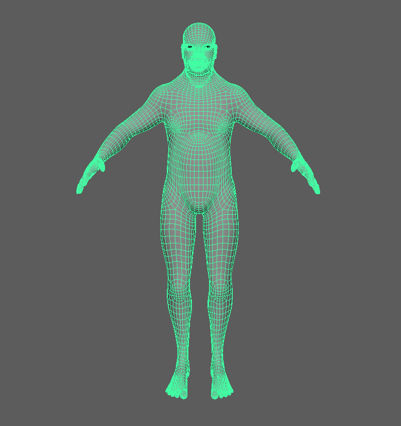 Retopo after subdivision for smoother edges and realism in Unity