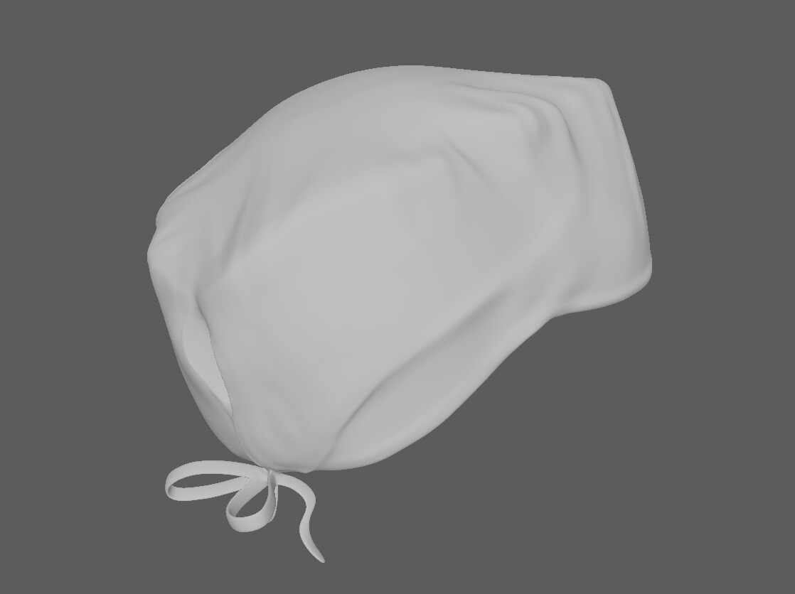 cap surgeon high poly made in Zbrush