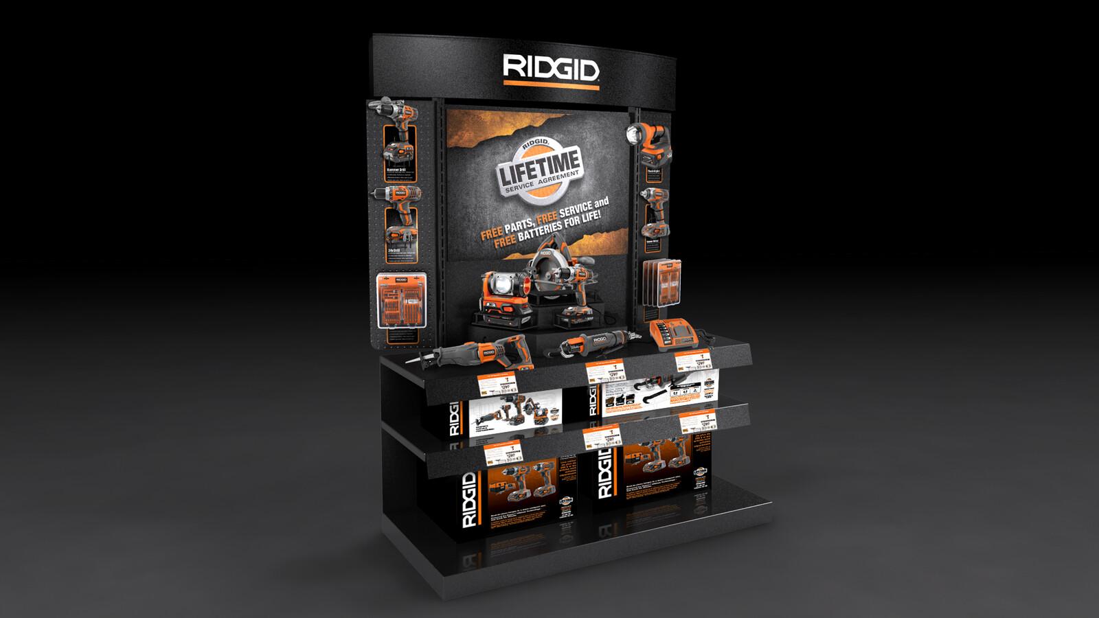 RIGID Tools Endcap