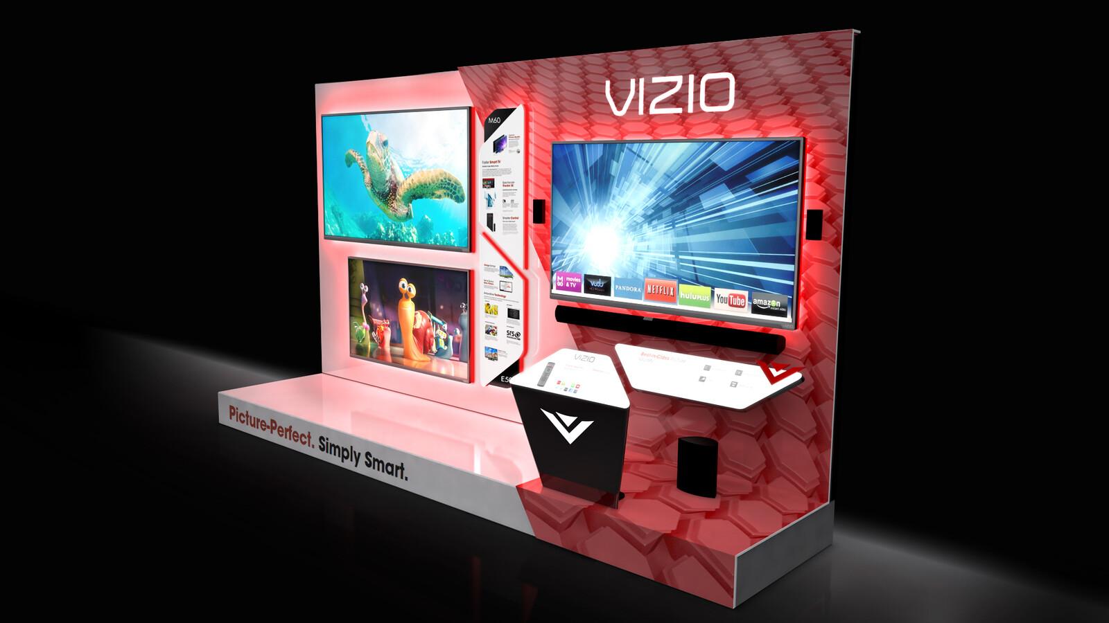 VIZIO In-Store Display
