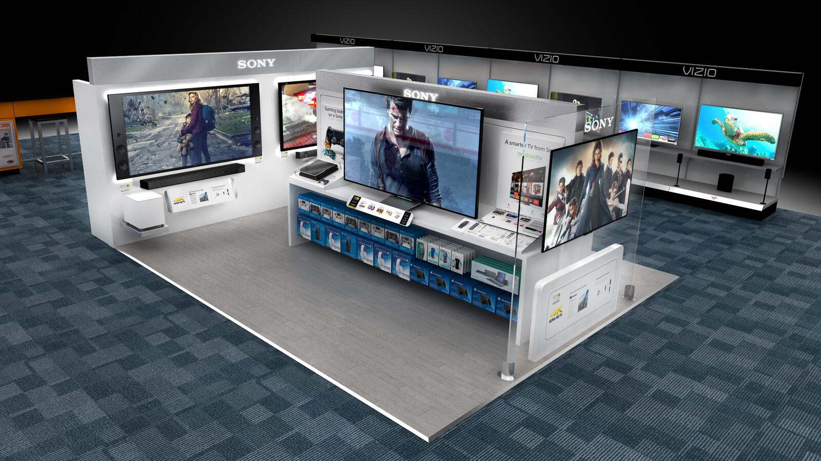Sony Best Buy Environment