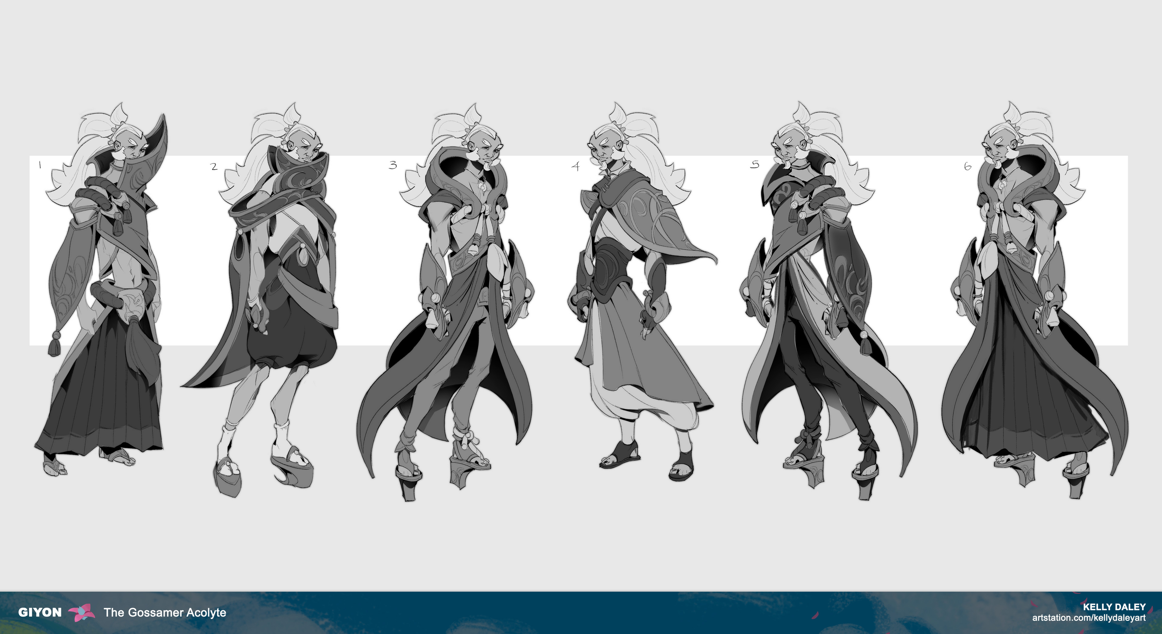 Costume explorations. Although I kept my motifs in mind, I wasn't hitting the Ionian concept just yet. After the extensive critique, I realized that my ideas were leaning too fantasy. I needed to reevaluate my writing prompt to push these further.