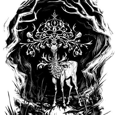 Gael chauvet 181205 argus cerf 02 002 illustration