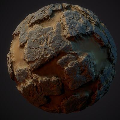 Desert Materials - Sand & Bedrock