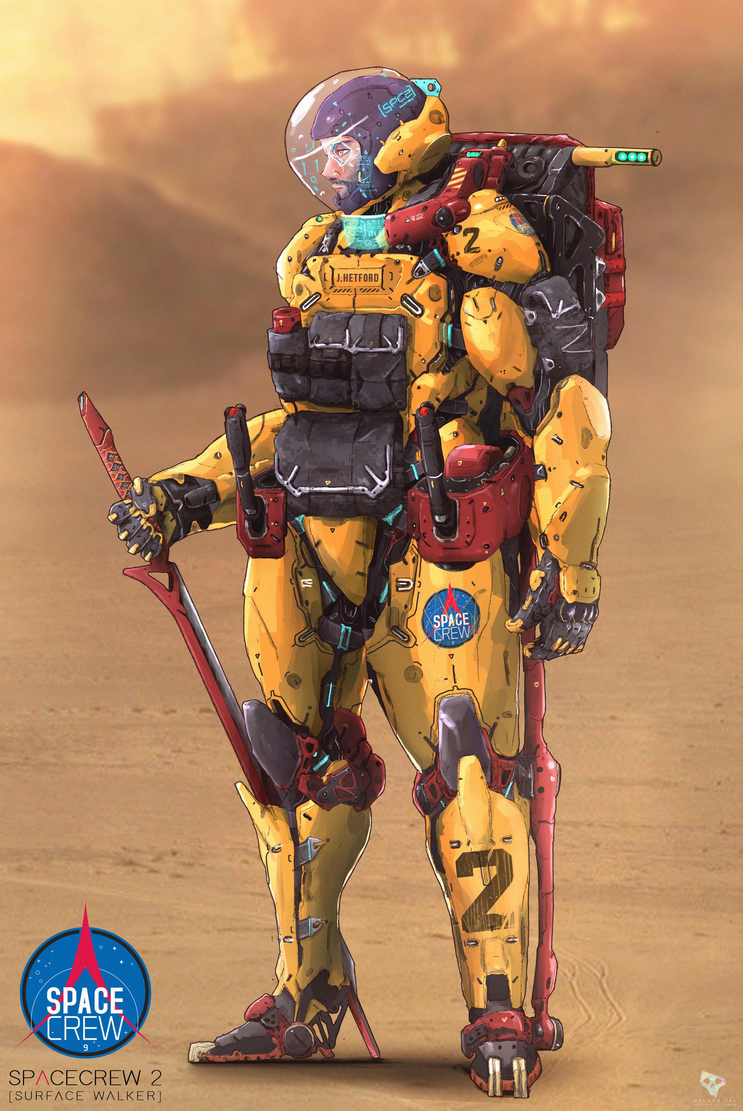 Spacecrew Walker suit - Mars ver.