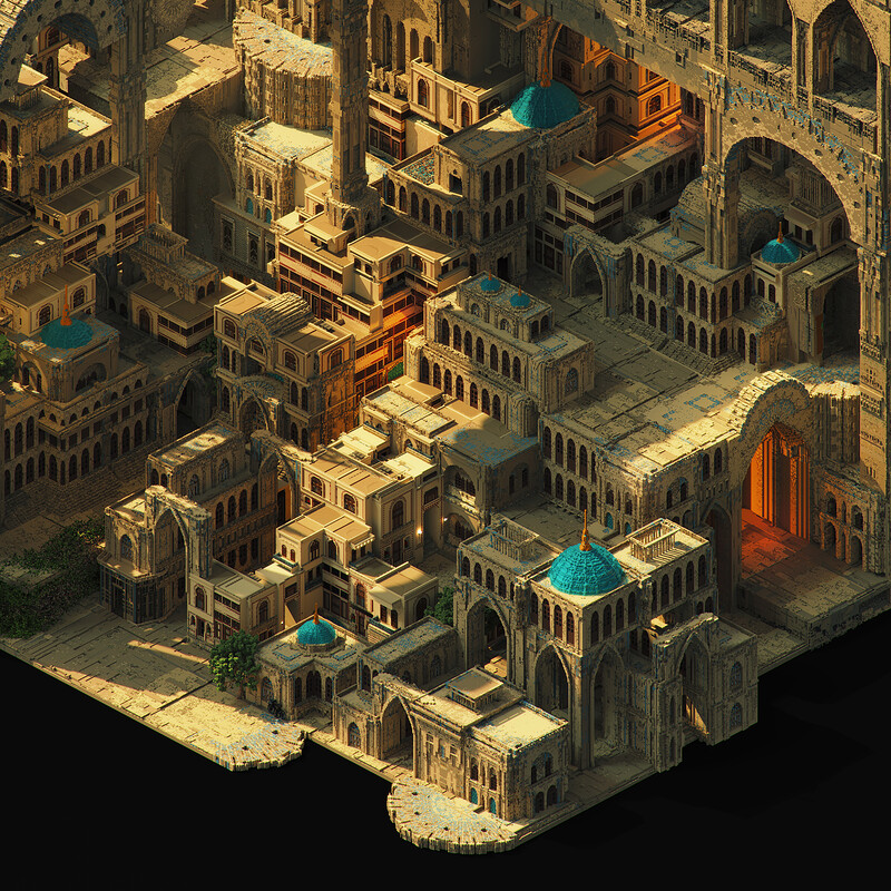 The Ancient city of Firouhan